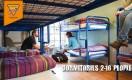 Schlafsaele 4-16  Gaeste im City Center von Dublin Backpackers Hostel