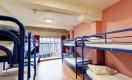 Schlafsaele fuer 8 Personen im Isaacs Hostel in Dublin