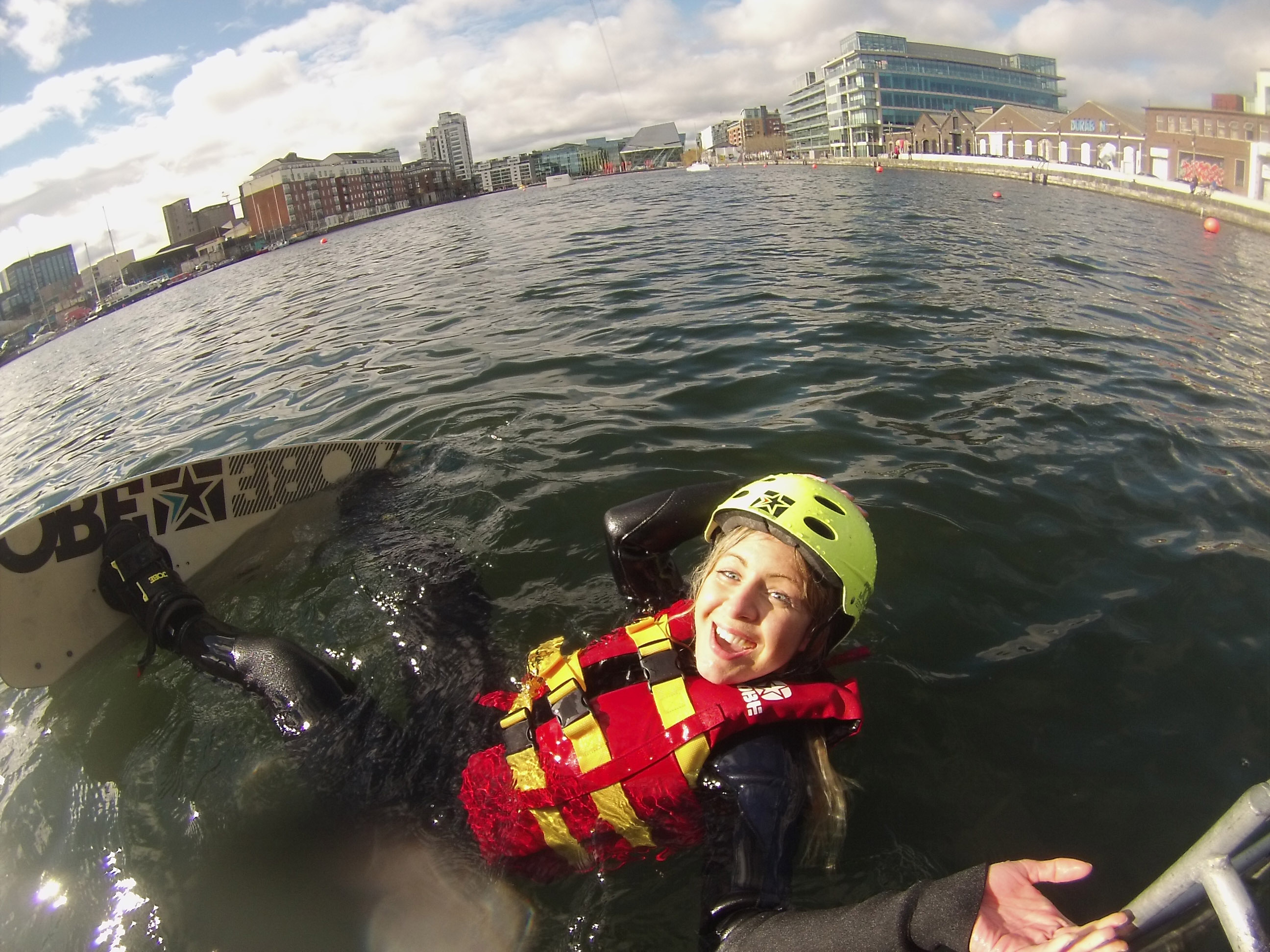 WakeDock wakeboarding Dublin