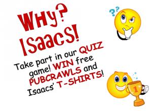 Isaacs Quiz Nights