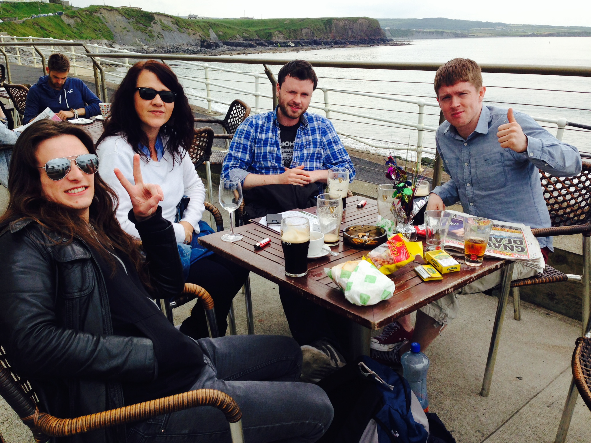 Isaacs goes to The Cliffs of Moher - A Drunkard's tale ! - Isaacs