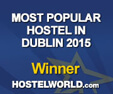 Isaacs hostel  was winner  of Dublin's most popular Hostel award in 2015