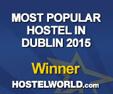 Isaacs hostel  was winner  of Dublin's most popular Hostel award in 2015