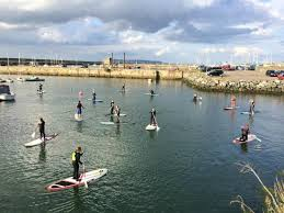 Isaacs hostel  go  to Stand up   Paddle board  Dublin
