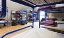 large 16 beds dormitories  ideal for groups at Dublin hostel