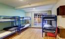 Schlafsaele fuer 6 Personen im Isaacs Hostel in Dublin